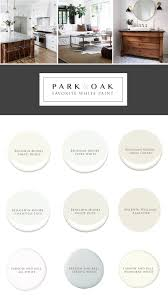 the right white park and oak interior design