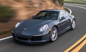 porsche graphite blue gt3 2017 porsche 911 carrera 4s coupe first drive u2013 review u2013 car and