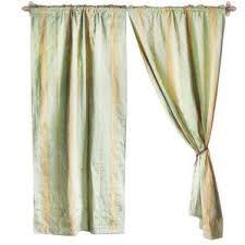 Black Ticking Curtains French Ticking Stripe Curtains Wayfair