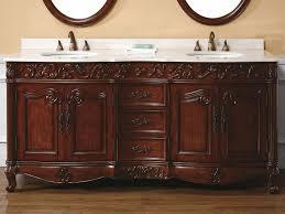 Wood Bathroom Vanity by Bathroom Gorgeous Bathroom Furniture Of Red Brown Cherry Wood