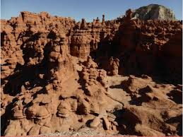 Goblin Valley Map Hiking In Goblin Valley Utah State Parks