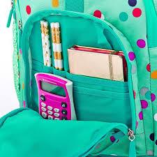 Black Purple Pink Green Peace by Gear Up Black Peyton Backpack Pbteen