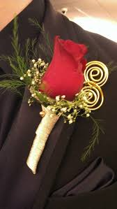 Gold Boutonniere The 25 Best Red Rose Boutonniere Ideas On Pinterest Red