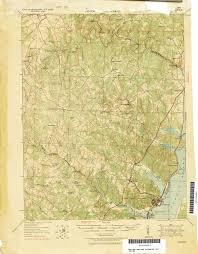 Virginia Coast Map by