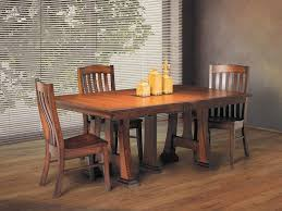 Solid Wood Dining Room Sets Oak Dining Room Set With 6 Chairs Wood Kitchen Table Sets Amish
