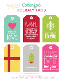 free printable colorful gift tags aimee free