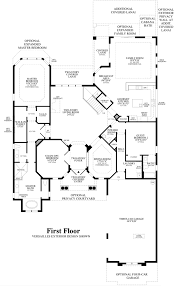 kitchen family room floor plans casabella at windermere the dalenna home design