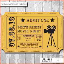 movie ticket template sponsorship letter