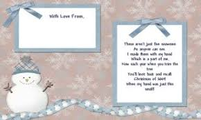 melted snowman ornament poem