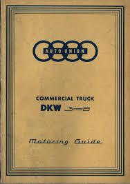 auto union project 1959 dkw schnellaster driver manual