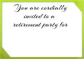 Retirement Invitation Card Matter In English 100 Retirement Invitation Wording Retirement Party