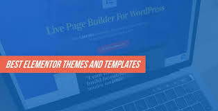 20 best elementor themes and templates for 2018