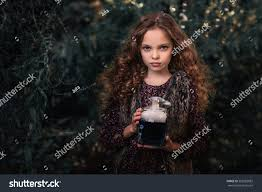 halloween concept cute little witch bottle stock photo 505582882