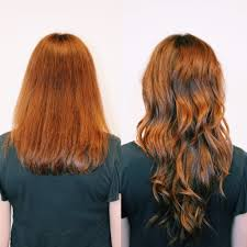 Before After Hair Extensions by Hair Extension Before U0026 After Neroli Aveda Lifestyle Salon U0026 Spa