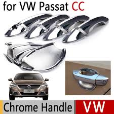 Chrome Exterior Door Handles For Vw Passat Cc Volkswagen Chrome Exterior Door Handles Covers