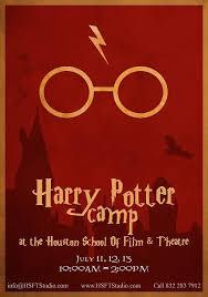 harry potter summer camp kids houston