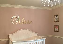 Personalized Nursery Decor Initial Letters Wall Decor Awesome Personalized Baby Nursery