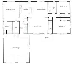 ranch style floor plan open ranch style floor plans thecashdollars com