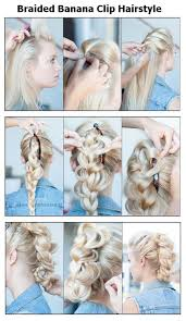 banana clip hair braided banana clip hair style pictures photos and images for
