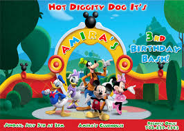 how to make mickey mouse clubhouse birthday party invitations