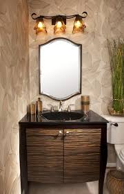zebra wood bathroom cabinets marvelous nickel faucet small powder with integrated sink countertop