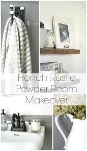 Diy Powder Room Remodel - best 25 rustic powder room ideas on pinterest half bathroom
