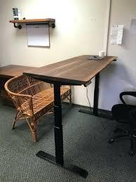 live edge computer desk black walnut desk unique black walnut desk walnut and black gloss