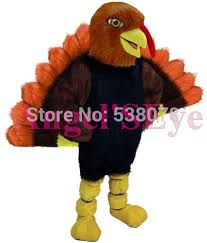 thanksgiving day tom turkey mascot costume character