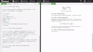 latex tutorial overleaf overleaf for authors write and collaborate online with latex
