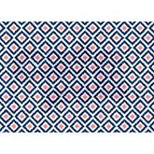 navy blue mint and coral pattern rug nursery rug kids room