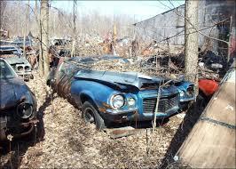 camaro salvage yard camaro z 28 junk yard cars barn finds abandoned