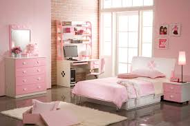 girls bedroom entrancing pink bedroom decoration using light