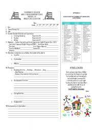 worksheet esl lesson plan sample