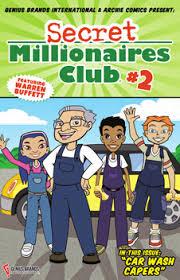 warren buffett u0027s secret millionaires club comic books
