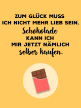 sprüche über schokolade spruch schokolade bilder