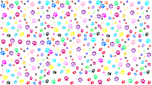 grey paw print with gradient clip art at clker com vector clip