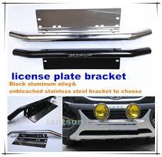 automotive led light bars led light bars mount bracket car license plate bracket for fog light
