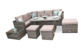 chelsea dining corner sofa rattan furniture outdoor set