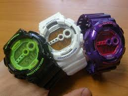 Jam Tangan Casio Medan jam tangan original on casio g shock gd 100sc ungu sold