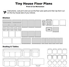 Tiny House Floor Plan Maker Print U0026 Cut Floor Plan Worksheet