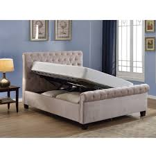 Upholstered Ottoman Storage Bed by Ottoman Beds Storage Beds Cuckooland