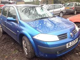 renault megane 2003 2003 renault megane mk2 1 9 dci 120 5dr blue tei45 te145 breaking