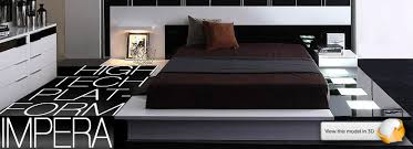 Modern Platform Bed With Lights - remodell your design a house with good modern bed bedroom
