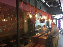 take a look inside taco bell cantina in cleveland and see what u0027s