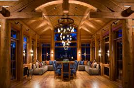 Home Interiors Cedar Falls Log Home Interiors