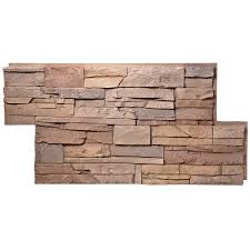 Faux Stone Post Sleeves by Shop Stone Veneer U0026 Accessories At Lowes Com