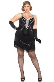 flapper halloween costumes for womens 1920 u0027s plus size costumes purecostumes com