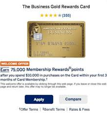 Business Gold Rewards Card From American Express Two American Express Business Gold Rewards Offers For 75 000