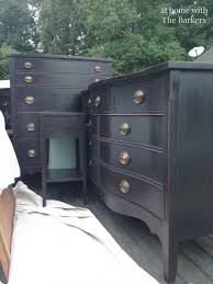 how to paint bedroom furniture black diy black chalk finish paint drawers chalk paint and paint furniture
