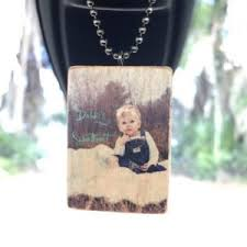 personalized rear view mirror charms rear view mirror charm wooden handmade personalized rear view